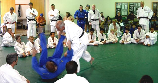 Demonstration of Kibisu gaeshi