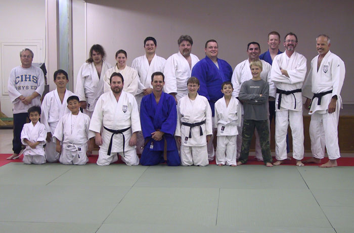 January 2003 class with new Dax tatami from Hatashita Enterprises